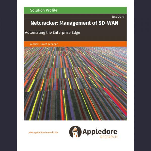 Netcracker SDWAN frontpage