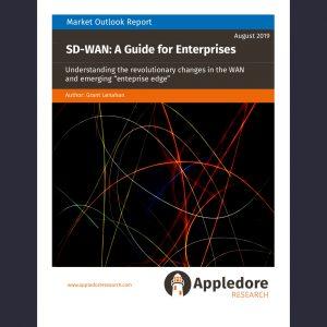 Enterprise SDWAN frontpage
