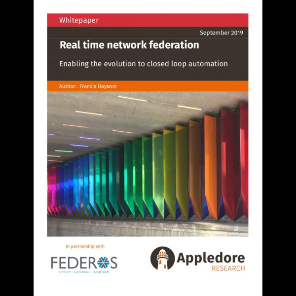 Real time network federation frontpage