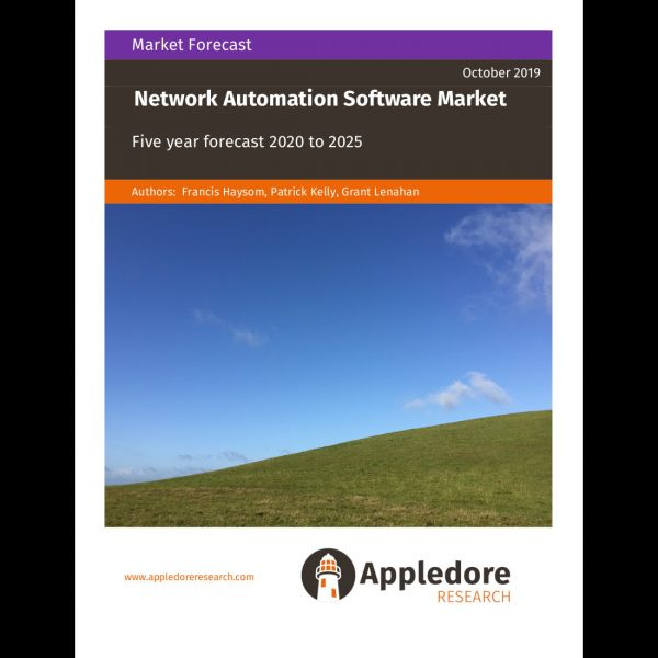 Network Automation Software Market frontpage