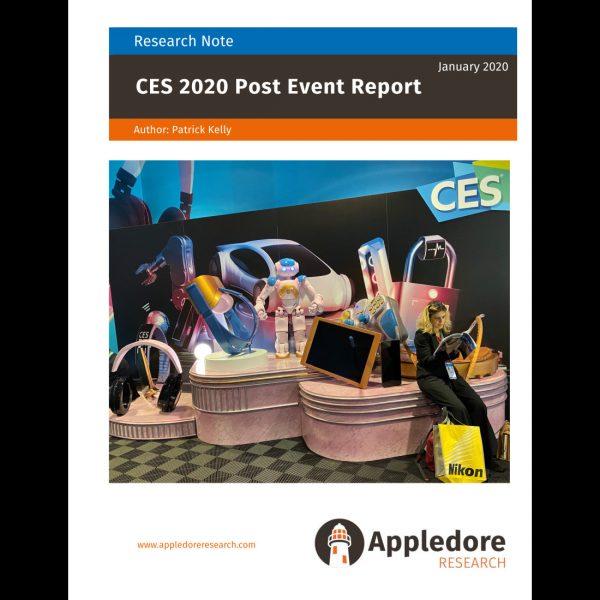 CES 2020 frontpage